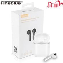 Fineblue J1 PRO Wireless Bluetooth Kopfhörer TWS TOP APTX HD Smart Sensor 8D Stereo Super Bass Ohrhörer Dual mikrofon