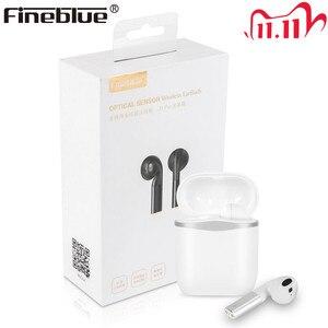 Image 1 - Fineblue J1 PRO kablosuz Bluetooth kulaklık TWS en APTX HD akıllı sensör 8D Stereo süper bas kulakiçi çift mikrofon