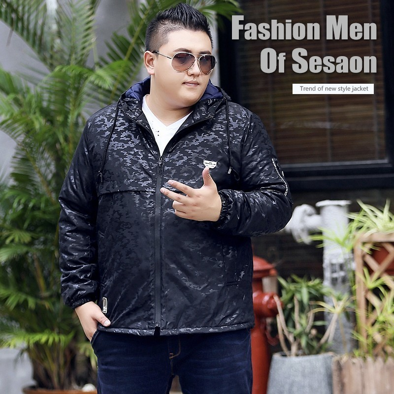 Autumn And Winter Will Code Clothes Easy Thin Mianfu The Fat Fertilizer Clothes Increase Fertilizer Code Youth Loose Coat Tide