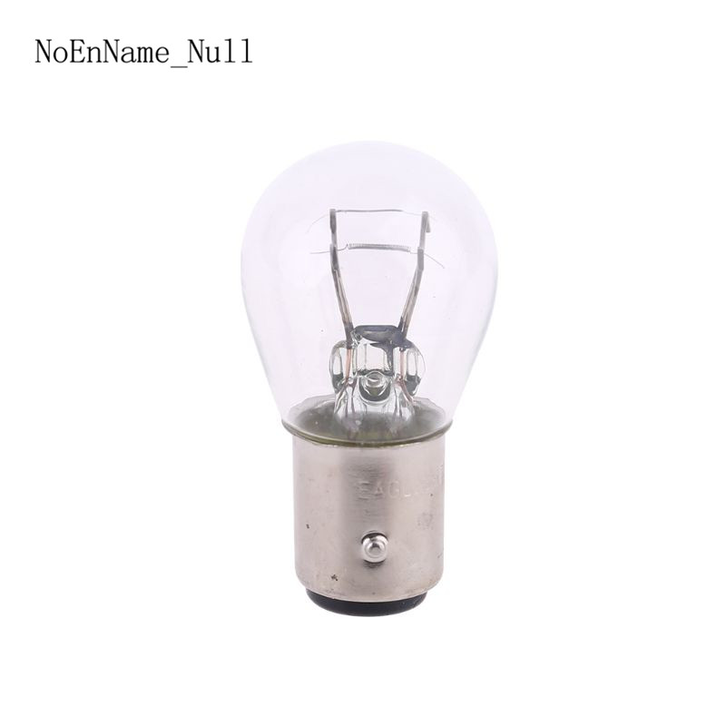 2pcs P21/5W S25 12V21/5 BAY15D Car Clear Glass Lamp Brake Tail Bulb Car Indicator Halogen Stop Lamp Brake Bulbs