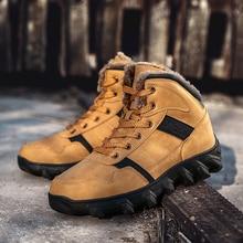 купить New Hot Style Men Hiking Shoes Winter Outdoor Walking Jogging Shoes Mountain Sport Boots Climbing Sneakers Free Shipping дешево