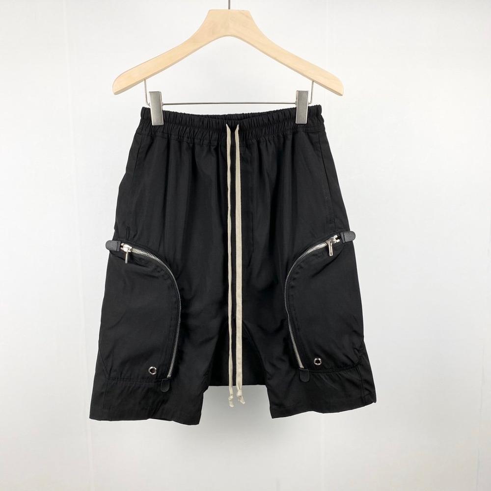 20ss Owen Seak мужские повседневные шорты шаровары готические мужские спортивные штаны Летние хип хоп Высокие Свитера женские свободные черные ш
