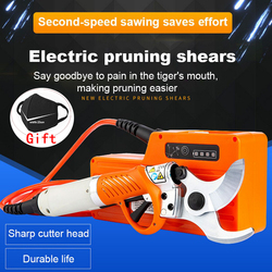 Электрический секатор 450 Вт, Электрический секатор 36 В 4400 мА/ч, литиевая батарея, ножницы для садового сада и фруктов