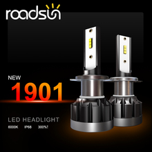 цена на 2PCS H4 H8 H3 H7 LED Canbus Headlight Led Lights For Car H11 LED Bulb Running Lights 9005 9006 LED Headlight Bulbs Fog Lights