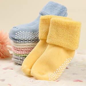 Socks Anti-Slip Newborn-Baby Toddler Baby-Boy-Girl Kids Cotton Sokken Infant Summer Spring