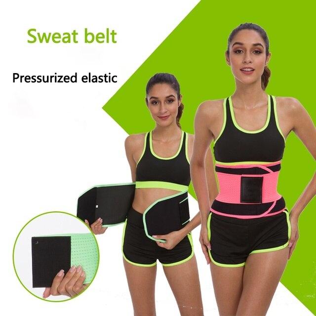 New Fitness Accessories Ladies Weight Loss Body Sculpting Sweat Belt Sauna Waist Coach Hot Sale 3