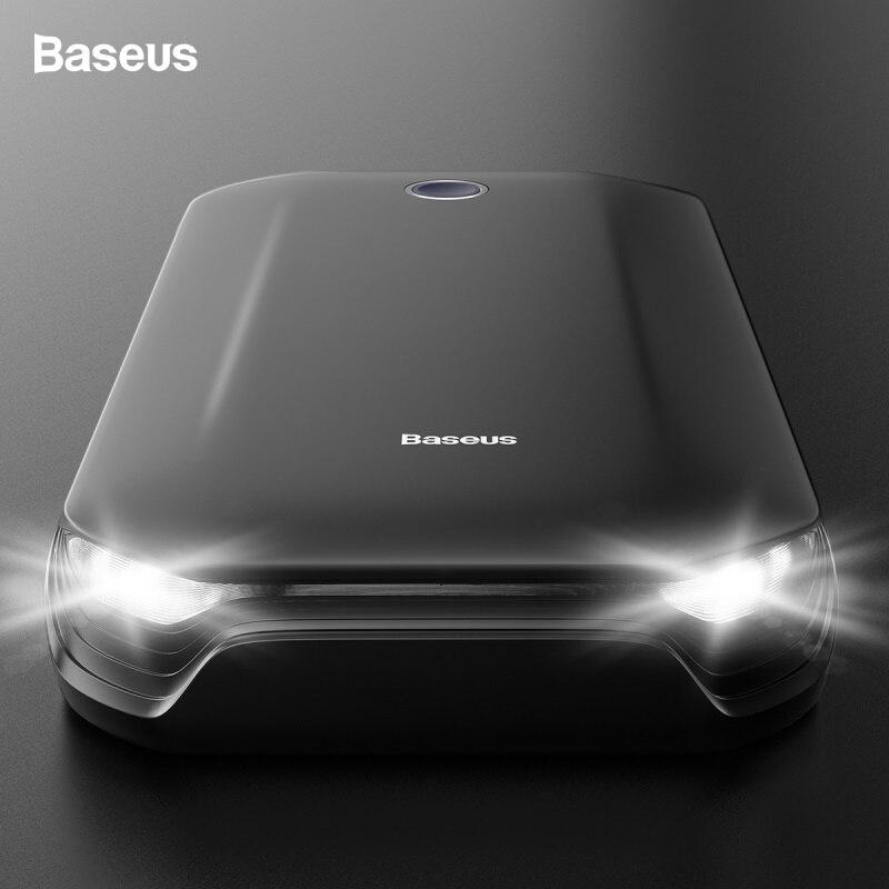 Baseus Super puissance voiture saut démarreur batterie externe 800A Portable voiture batterie Booster chargeur 12V dispositif de démarrage essence voiture démarreur