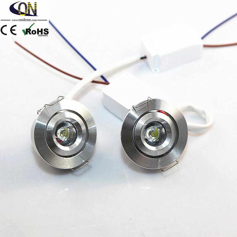 6 шт./лот Dmmable серебристый мини светодиодный локальный светильник 5 Вт 100 V-240 V DC12V ювелирные изделия Дисплей потолочный потайной шкаф точечный светильник