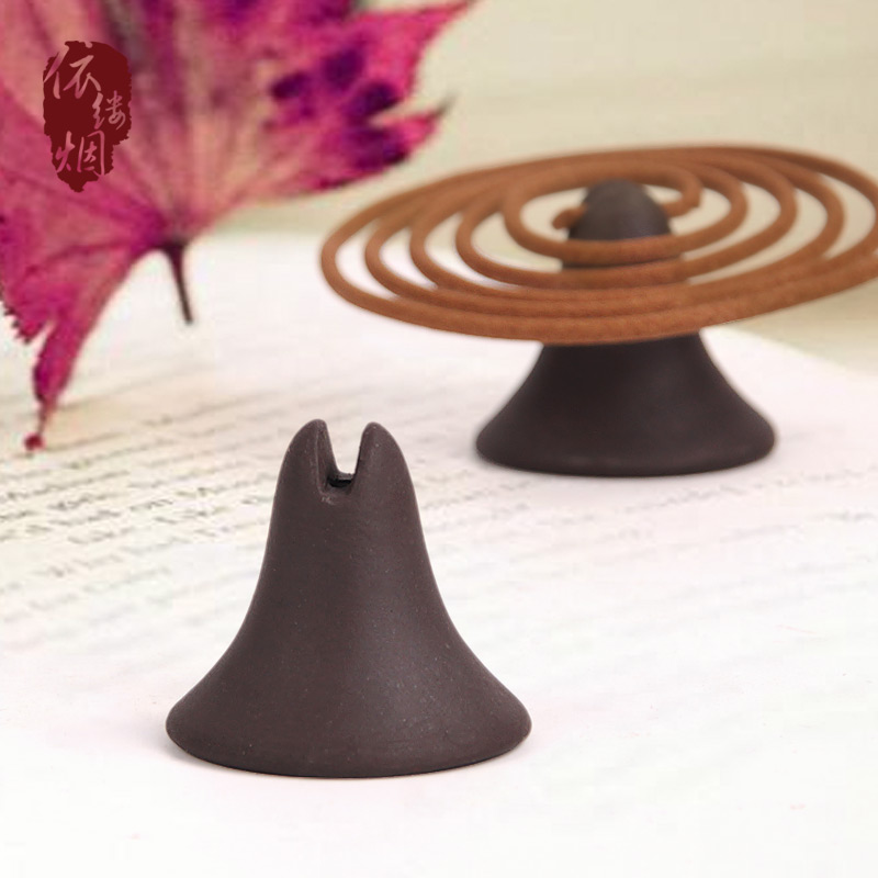 2019 Puxadores Cyclone Gourd Cinnabar Course Dish Incense Burner Stents For Sandalwood Joss Stick Aloes Lie Fragrant Inserted