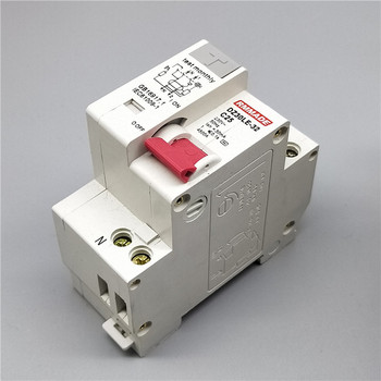 цена на DZ30LE-32 2P 1P+N Small Household Leakage Protector DPN Air Switch Dual-in, Dual-out, Dual-wire 16/20/25A Mini Circuit Breaker