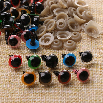 Mix Color Plastic Safety Eyes Crafts Animal Teddy Bear