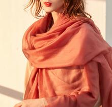 цены Bogeda New Winter 100%Cashmere Scarf Women 300s Worsted Yarn Extra Thin Pashmina Lady High Quality Free Shipping