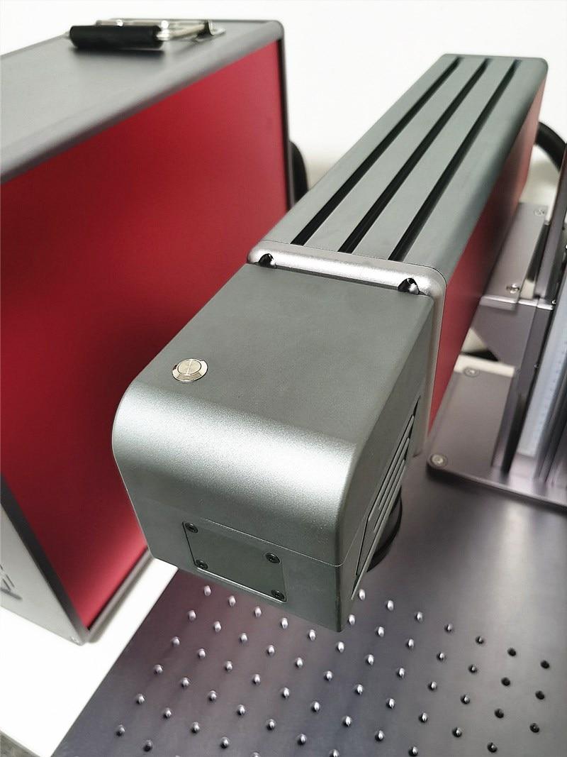 50W Split Fiber Laser Marking Machine With High Quality 110mm150mm Field Lens 1