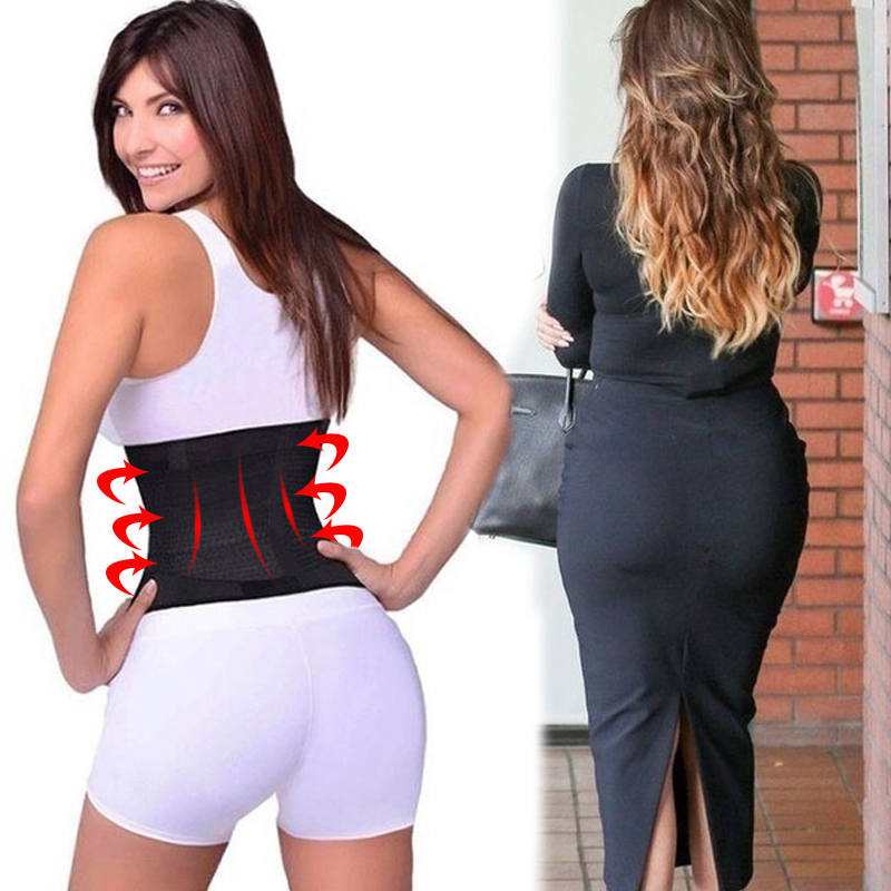 Body Shaper Girdle Waist Trainer Belt Helpful Slimming Belt Women Adjustable Sport Hot Power