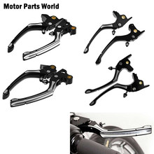 Motorcycle Regulator Clutch Brake Lever Aluminum For Harley Touring Road King Street Glide Dyna Softail Sportster XL883 XL1200