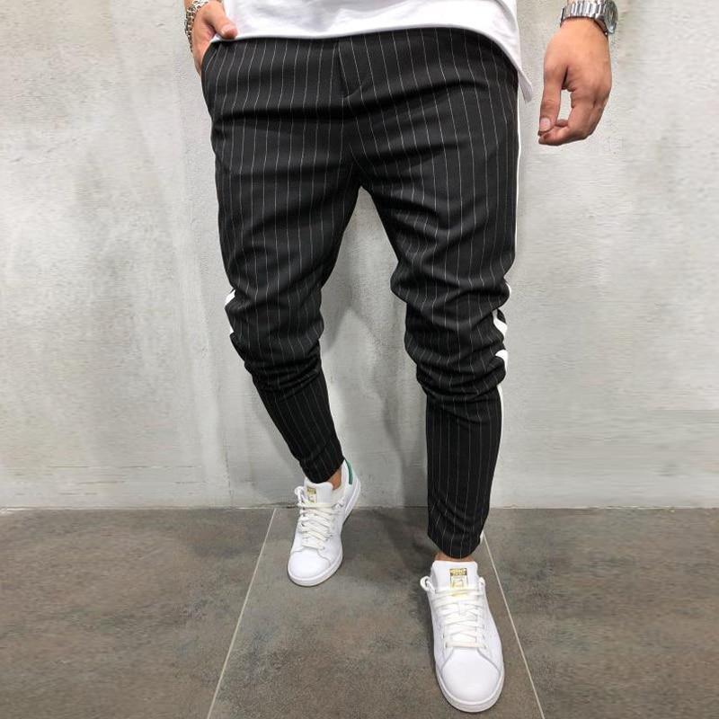 Ha0bef40cfe6a4e548f23408fa83aab9aG Spring Autumn Casual Men Sweat Pants Male Sportswear Casual Trousers Straight Pants Hip Hop High Street Trousers Pants Joggers