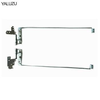 """YALUZU nuevo ordenador portátil Lcd bisagras para DELL Inspiron 7700 17 7746 Serie 17-7700 17,3 """"ordenador portátil bisagras de pantalla LCD L + R"""