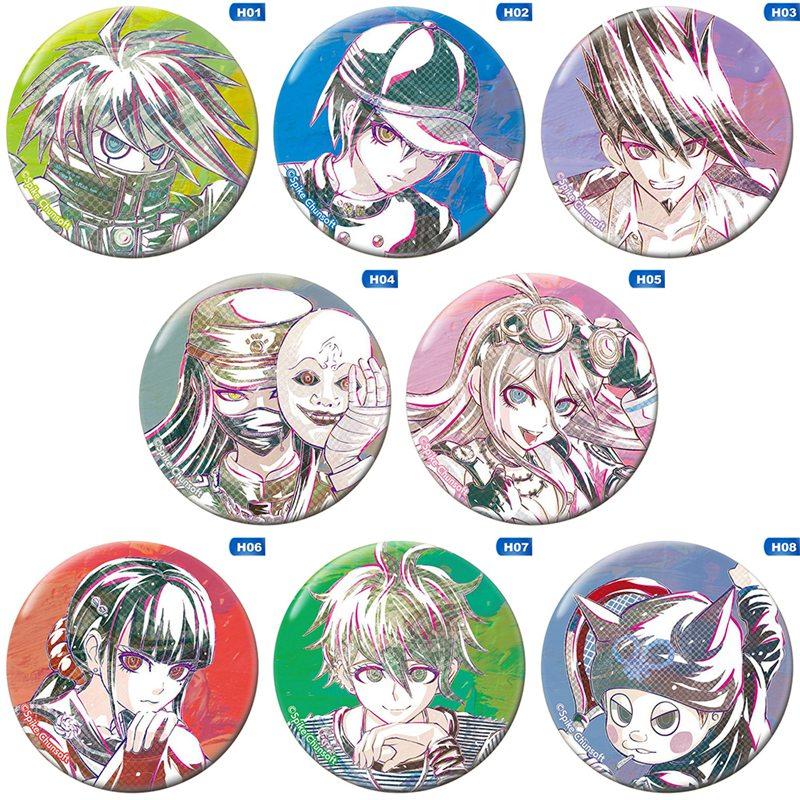 Cosplay Badge Oma Kokichi Brooch Pins Collection Bags Badges Games Danganronpa V3 Killing Harmony Pin For Backpacks Clothes