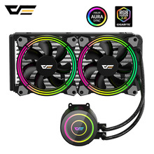 Cooler PC Case Radiator Darkflash Cpu Water-Liquid-Cooling 240mm Rgb Ryzen/lga for Fan