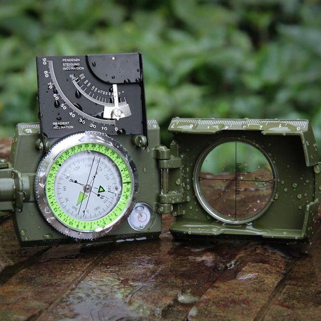 Eyeskey Mulitifunctional Outdoor Survival Military Compass Camping Waterproof Geological Compass Digital Navigation Equipment 3