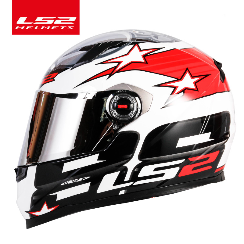 Image 3 - LS2 FF358 full face motorcycle helmet high quality LS2 Brazil flag capacete casque moto helm ECE approved no pump-in Helmets from Automobiles & Motorcycles