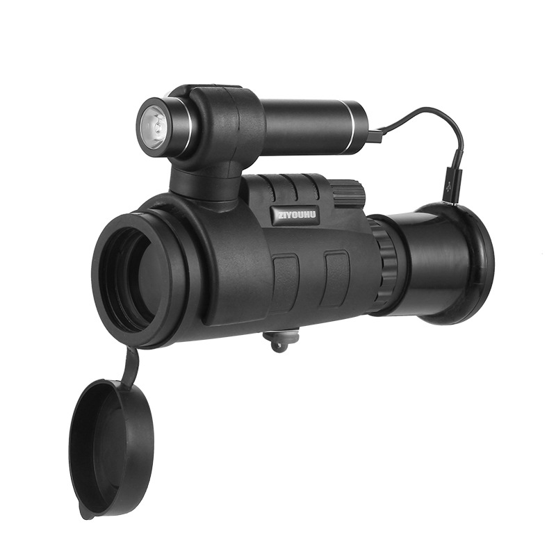 Caméra monoculaire infrarouge de Vision nocturne WIFI connectez la photographie de téléphone portable 200m
