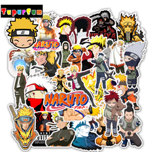 Japan Anime Naruto Sasuke Cartoon  Waterproof Sticker For Snowboard Laptop Luggage Fridge Car- Styling Vinyl Decal Toy Stickers 2000 pcs classic style children stickers funny fashion anime sticker toys vinyl waterproof decal toy luggage laptop sticker