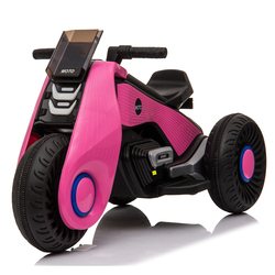Children's Electric Motorcycle 3 Wheels Double Drive 2- 7 Year-old Child Charged Toys With music playback function Kids Car