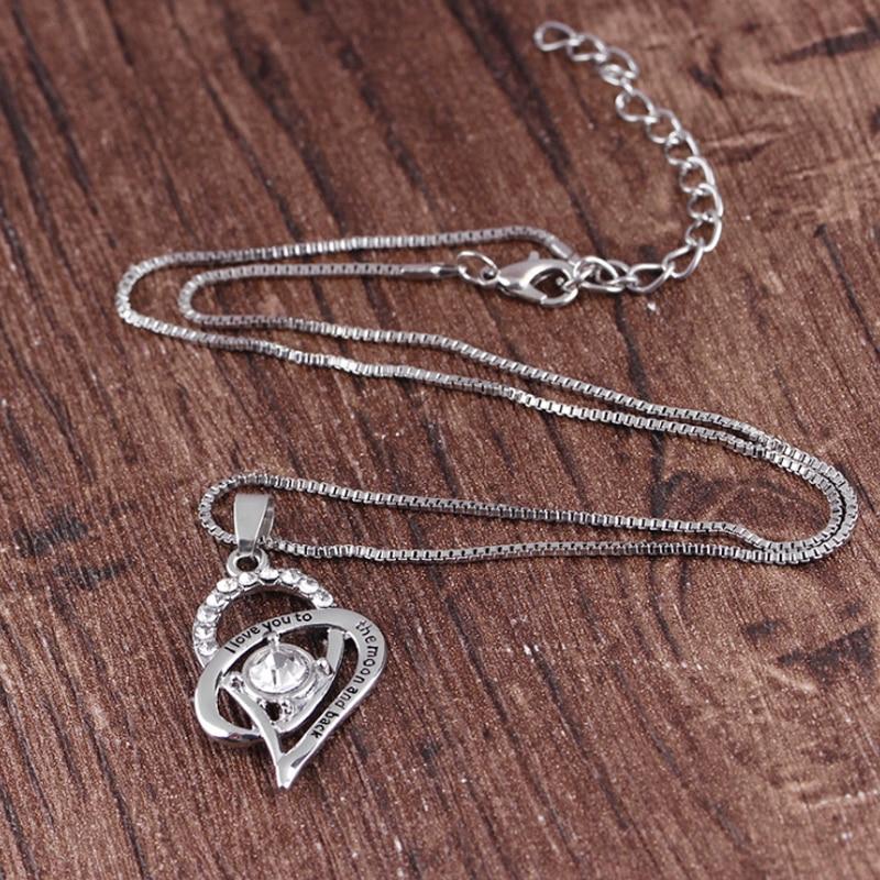 爱心项链-3