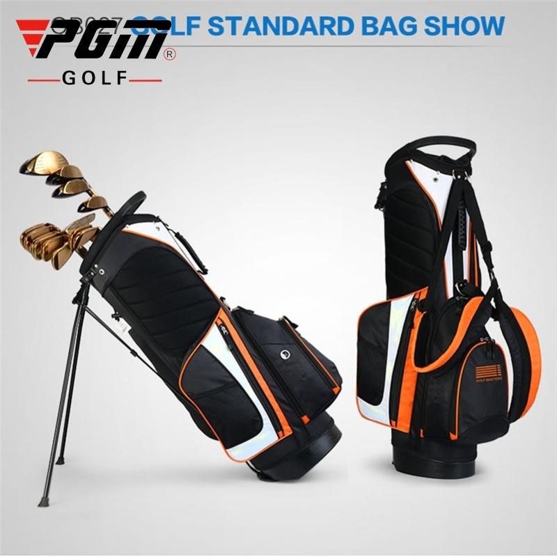 Golf Rack Bag Portable 14 Holes Golf Clubs Stand Bag Big Capacity Tripod Rack Bag Multi-Purpose Aviation Packages D0069