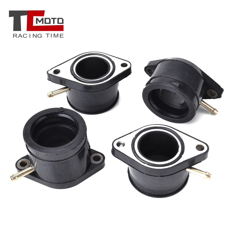 TCMOTO For Yamaha XJ900 XJ 900 XJ900F 4BB 58LMotorcycle Carburetor Intake Interface Carb Adapter 31A-13586-00 31A-13596-00 image