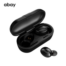 Abay XG-13 TWS 5.0 i7S TWS Bluetooth headphone 3D stereo wireless earphone Bluetooth Headset dual with microphone Earbuds bluetooth earphone 5 0 mini tws wireless stereo headphone ipx5 waterproof sport headset earbuds with dual microphone