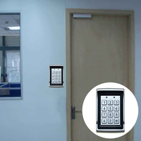 Keypad Dustproof Reader Home LED Backlight Waterproof Safety Protection Card Password Door Digital Aluminum Alloy Access Control