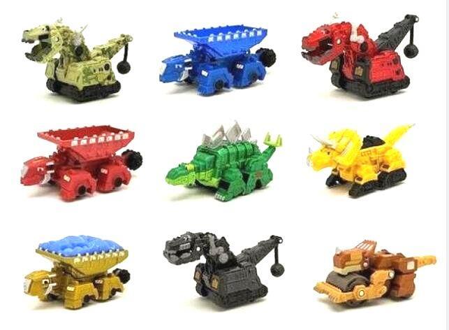 Динозавр Dinotrux, грузовик, съемный динозавр, игрушечный автомобиль, мини модели, новые детские подарки, игрушки, модели динозавров, мини детск...