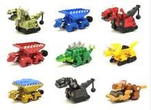 Dinotrux dinossauro caminhão removível dinossauro brinquedo carro mini modelos novas crianças presentes brinquedos modelos dinossauro mini criança brinquedos