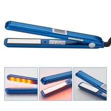 Outil de réparation de cheveux à infrarouge ultrasonique LCD, huile de fer froid, récupère les cheveux endommagés en douceur