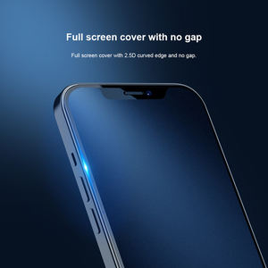 Image 3 - For iPhone 12 Pro Tempered Glass Full Coverage Matte Screen Protector For iphone 12 стекло Nillkin FogMirror Film