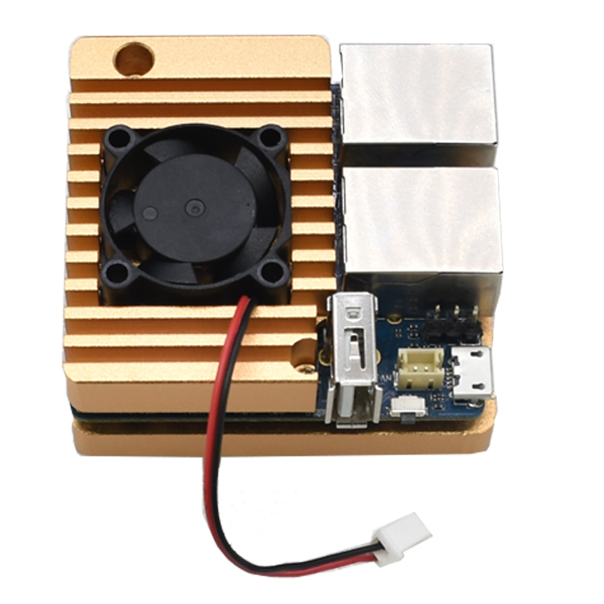High Quality Aluminum Alloy Shell Case With Fan For NanoPi R2S