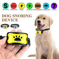 Global Hot selling Intelligent Ultrasound Bark Stopper Training Dog Electric Shock Protection Dog Pet Traction Collar Waterproof