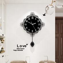 Большие новые оригинальные сменные черные часы meisd декоративные