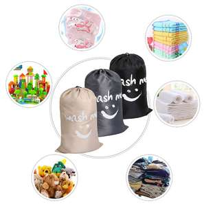 Storage-Bag Laundry-Diaper Travel Dirty with Drawstring Closure Washable Multi-Functional