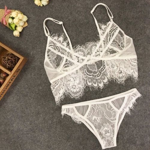 Plus Size Women Underpants Open Crotch Lingerie G String Lace Underwear Sexy T-back Thong Sheer Panties Transparent Knickers