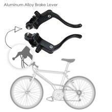 1 пара шоссейный велосипед Фикси передние и задние тормозные рычаги алюминиевый сплав тормозной рычаг набор