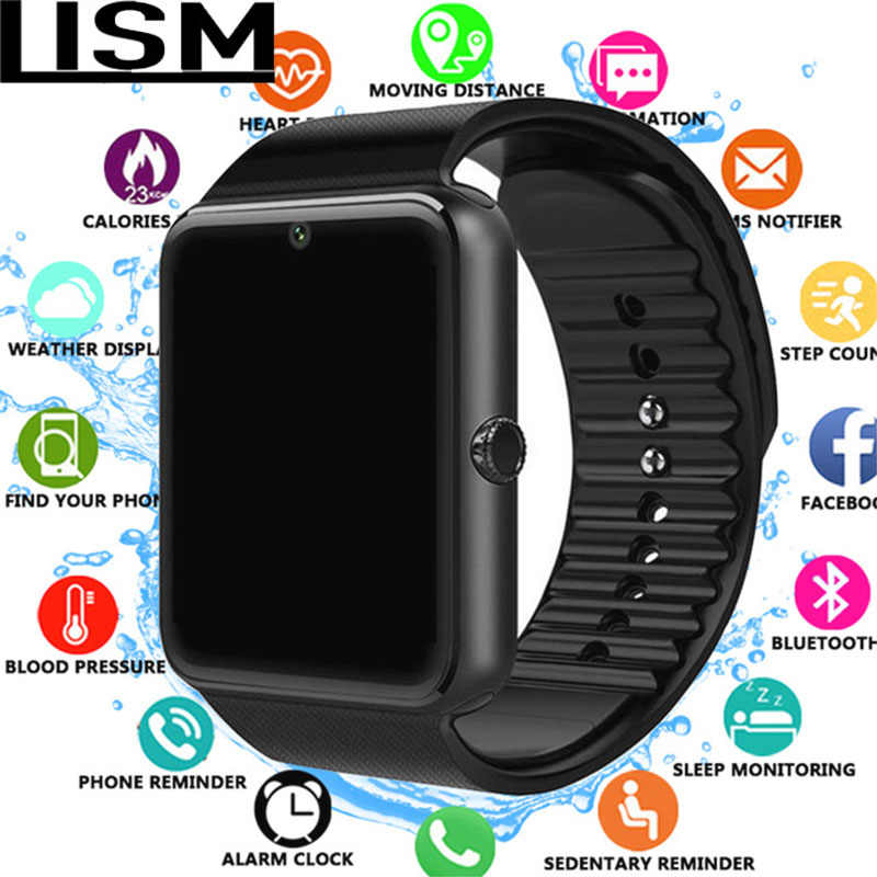 Smart Watch GT08 Clock Sync Notifier Support Sim TF Card Bluetooth Connectivity Android Phone Smartwatch Alloy Smartwatch Reloj