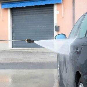 Image 5 - Limpeza do carro turbo bocais pulverizador para conector rápido lavadora de pressão do carro acessório rotativo pivotante acoplador jet pulverizador