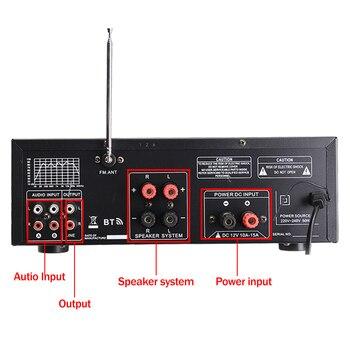Усилитель мощности SUNBUCK 326BT, 2*60 Вт, Bluetooth 3