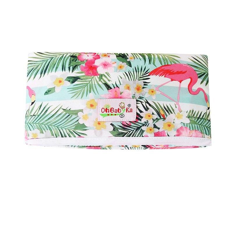 Новые 3 в 1 Водонепроницаемый пеленальный коврик пеленки мнчества, Портативный чехол для детских подгузников коврик чистой ручной складной сумка из узорчатой ткани - Цвет: HND04
