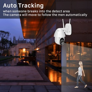 Image 2 - BESDER 2MP Yoosee واي فاي كاميرا IP الصوت سرعة قبة PTZ كاميرا الأمن تتبع السيارات P2P سحابة لاسلكية CCTV كامارا مع فتحة SD