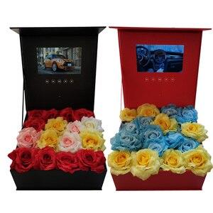 Image 1 - Boîte à couverture rigide 7 pouces, 2 go de mémoire, carte de vœux universelle, HD, pour regarder des livrets vidéo, pour les entreprises publicitaires