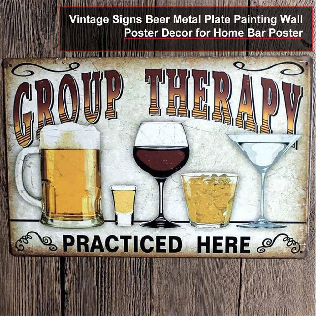 Vintage Bier Metalen Plaat Schilderij Muur Decor voor Bar Pub Keuken Thuis Poster Plaat Metalen Borden Schilderen Plaque 20x30cm